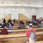 اليوم : طلاب الفرقة الاولى والثالثة يؤدون امتحانات دور يناير 2017/2018