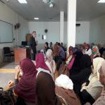 اجتماع السيد الأستاذ الدكتور عميد الكلية مع السادة العاملين