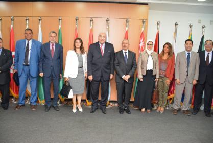 جامعة السادات توقع برتوكول تعاون مع الاكاديمية العربية للعلوم والتكنولوجيا والنقل البحري