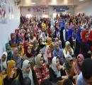 طالبات الكلية  فى حفل إستقبال العام  الجامعي 2019/2020