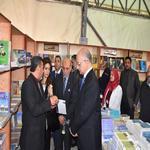افتتاح معرض الكتاب بكلية التجارة بمناسبة عيد الجامعة السادس