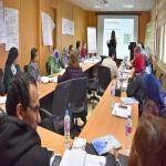 بدء فعاليات مركز ضمان الجودة والتطوير المستمر لورشة العمل الدولية