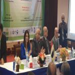 رئيس الجامعة يفتتح فاعليات المؤتمر الدولي الخامس لمعهد الدراسات والبحوث البيئية