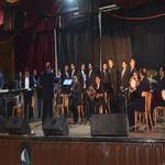 كورال جامعة مدينة السادات يقدم عرضه الفنى بأسبوع شباب الجامعات بجامعة كفر الشيخ