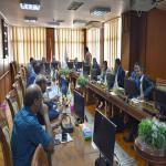 رئيس الجامعة يترأس إجتماع المجلس الدوري لمركز القياس والتقويم