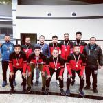 حصول منتخب الجامعة لكرة القدم الخماسى على المركز الثالث بأسبوع شباب الجامعات بكفر الشيخ