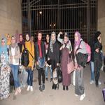 وصول الفوج الثاني لجامعة مدينة السادات الي كفر الشيخ للمشاركة بأسبوع شباب الجامعات