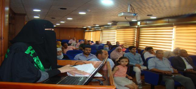 مناقشة رسالة الدكتوراه في العلوم البيئية للباحثة/ هبه محمود عبدالله الشافعي