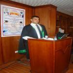 مناقشة الباحث / محمد محسن  رمضان لرسالة الماجستير
