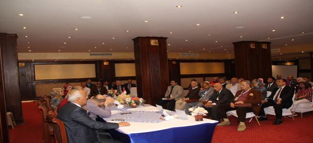 ختام فعاليات المؤتمر الدولي الخامس للدراسات والبحوث البيئية بمدينة الغردقة
