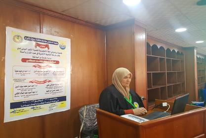 مناقشة رسالة الدكتوراة للباحثة/ هالة السيد محمد مصطفى