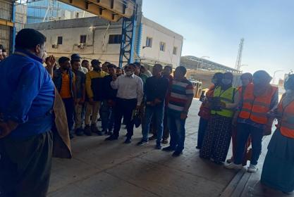 جامعة مدينة السادات تطلق حملة توعوية ضد الادمان بمصانع السادات