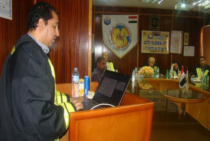 مناقشة رسالة الماجستير في العلوم البيئية للباحث/ مصطفى محمد محمد محمود جاد