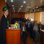 مناقشة رسالة الماجستير في العلوم البيئية للباحث/ علاء خالد اسماعيل عمر