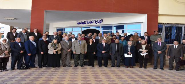 التوصية بتجديد شهادة ISO 9001:2015 لجامعة مدينة السادات