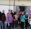 د/ هاله أحمد عبدالعال تقوم بزيارة لأحد مصانع الزيوت بمدينة السادات بصحبة طلبة الدبلوم بالمعهد