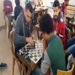 كلية الصيدله تشارك فى مسابقة الشطرنج فى المهرجان السنوى للاسر الطلابية على مستوى الجامعه