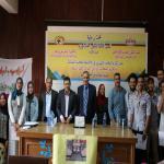 أقامت إدارة الكلية حفل تكريم الطلاب المتميزين والفائزين في الأنشطة الطلابية المختلفة  وتكريم عشيرة الجوالة بالكلية