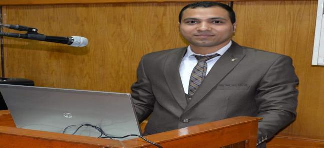 الدكتور محمد سعيد فتحي الرفاعي  يحصل على درجه الدكتوراه