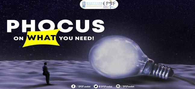 اليوم العلمي PHocus on career برعاية اتحاد طلاب الصيدلة المصري- جامعة مدينة السادات EPSF-Sadat