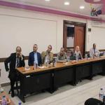 زيارة السيد أ.د/خالد ابو زيد عميد الكليه للمركز الجامعى للتطوير المهنى