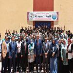 احتفال كلية الصيدلة جامعة مدينة السادات بانتهاء أعمال امتحانات الفرقة الخامسة للعام الجامعي 2020/2021