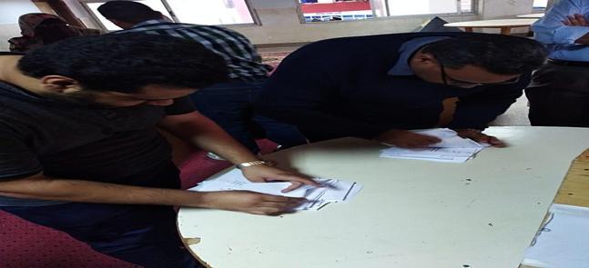 إعلان نتائج الانتخابات الطلابية