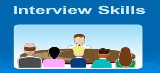 عقد ورشة عمل بعنوان: Interview skills