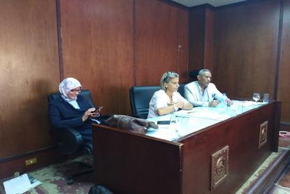 مناقشة تطوير لائحة البكالوريوس بقسم الإرشاد السياحي