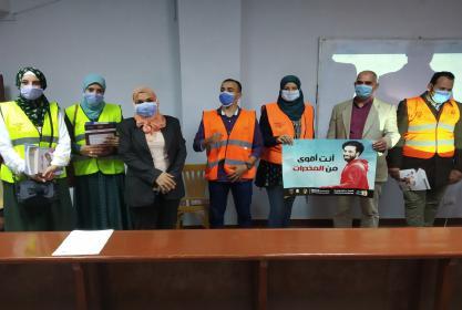 زيارة صندوق مكافح وعلاج الإدمان والتعاطى التابع لمجلس الوزراء للجامعة