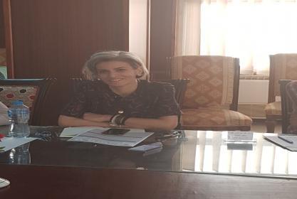 تجديد تعيين الأستاذة الدكتورة/ ريم الخضري رئيساً لقسم الإرشاد السياحي