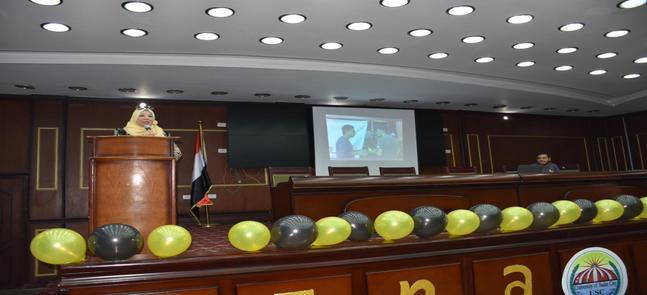 كمال: كل الدعم لإيناكتس جامعة مدينة السادات