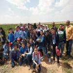 زيارة طلاب فصل التعلم الذكي بمدرسة زاوية بمم الرسمية لغات للمعهد