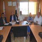 زيارة فريق وحدة إدارة المشروعات بوزارة التعليم العالي لمعامل جامعة مدينة السادات