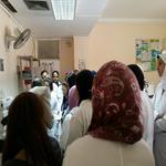 بالصور : زيارة طلاب زراعة سابا باشا للمعهد