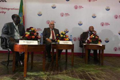 مشاركة رئيس الجامعة بمنتدى تانا للحوار بجامعة بحر دار بأثيوبيا