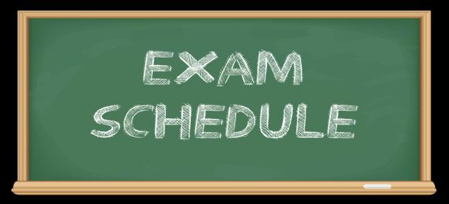 الجدول النهائي لامتحانات الفصل الدراسي الثاني لدبلوم الكيمياء الحيوية والبيولوجيا الجزيئية للعام 2019/2020