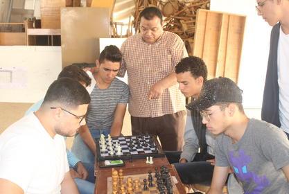 اليوم : بدء مسابقة دورى الشطرنج بين طلاب الكلية