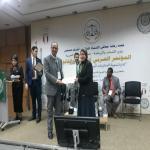 عميد الكلية تشارك فى  في المؤتمر العربي للرياضة والقانون