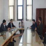 عميدة الكلية تجتمع بأعضاء و حدة ضمان الجودة و التطوير المستمر بالكلية