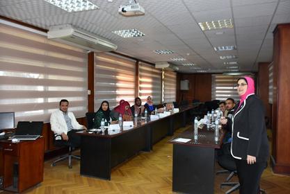 مركز تنمية الموارد البشرية و أعضاء هيئة التدريس يعقد برنامجه التدريبي