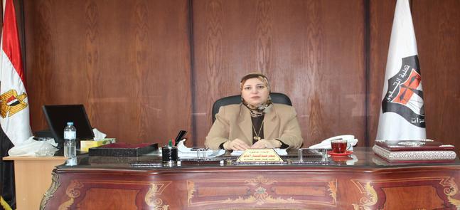 الأستاذة الدكتورة/ سحر عبد الستار إمام - عميدة الكلية تهنئ أسرة كلية الحقوق بمناسبة قرب حلول عيد الاضحى