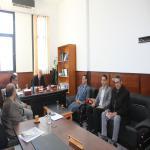 اجتماع الأستاذ الدكتور/ حسام الدين محمد أحمد رئيس قسم القانون الجنائى بالسادة أعضاء القسم بكلية الحقوق