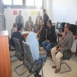 زيارة لجنة متابعة من إدارة المشروعات بوزارة التعليم العالي