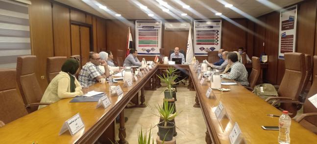 اجتماع مجلس الكلية عن شهر اغسطس 2020
