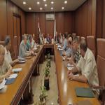 اجتماع مجلس الكلية عن شهر مايو 2019