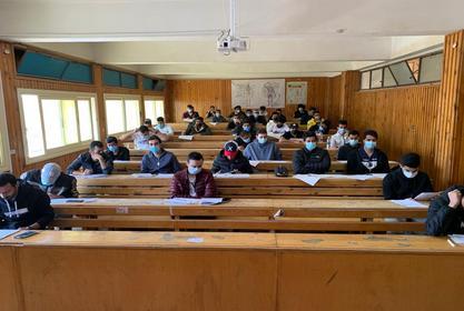 اليوم اول ايام امتحانات مرحلة البكالوريوس للعام الجامعى 2021/2020م