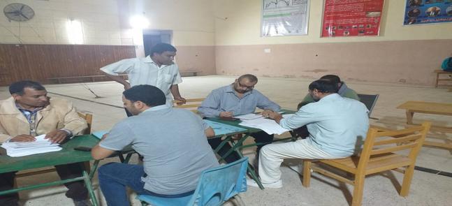Le vote des étudiants a été pris en compte lors de l'élection de l'Union des étudiants de la Faculté d'éducation physique de l'Université Sadat City