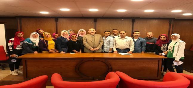 Première réunion du conseil de la College Students Union pour l'année universitaire 2020/2019