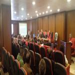 لقاء عميد الكلية بالسادة اعضاء هيئة التدريس 2020/2019م